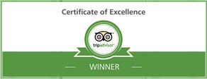 tripadvisor award of excellence for Belcekiz Beach Club Oludeniz