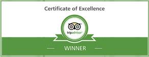 tripadvisor award of excellence for Belcekiz Beach Club Oludeniz