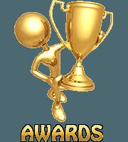 awards of Belcekiz beach club Oludeniz Turkey
