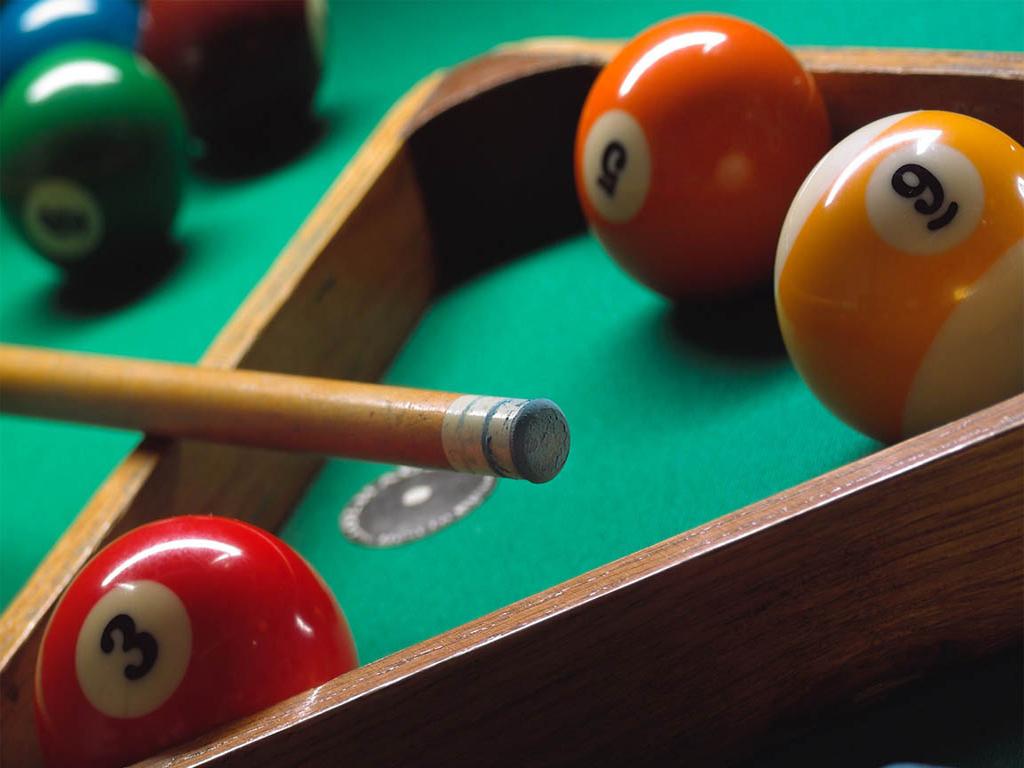 playing billiards at belcekiz beach club