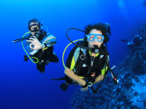 scuba diving in Oludeniz Turkey