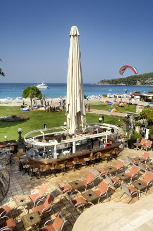 club belcekiz beach restaurants and bars gallery