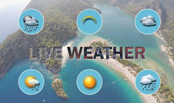 belcekız beach club live weather forecast